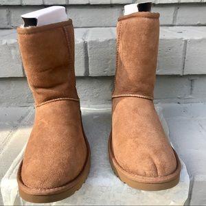 Ugg's: Tan Classic Short Boot II: Size 7 Woman